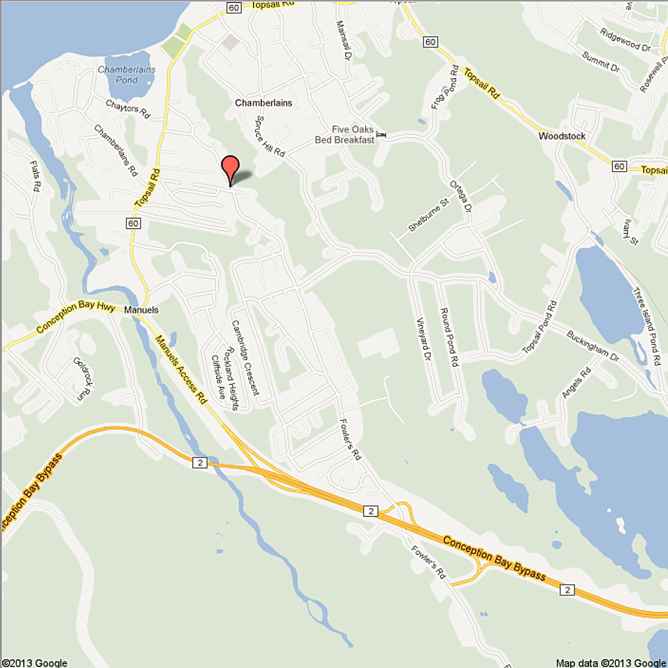 82 Fowlers Road Conception Bay South Nl Google Maps Home